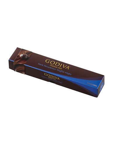 Godiva Set of Six Assorted Dark Truffle-NO COLOR-One Size