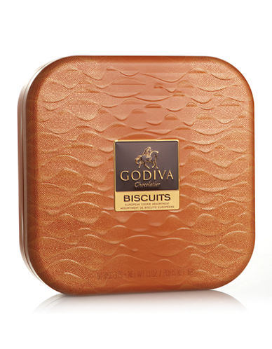 Godiva Biscuit Gift Tin-BISCUITS-One Size