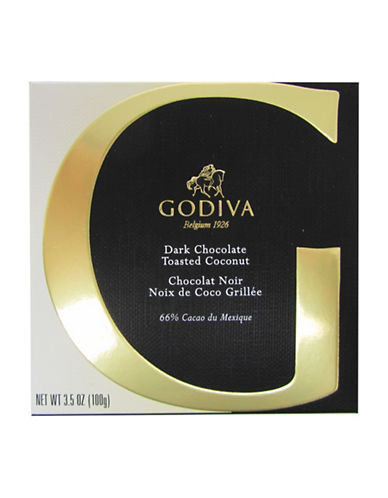Godiva Dark Chocolate and Coconut Bar-NO COLOUR-One Size