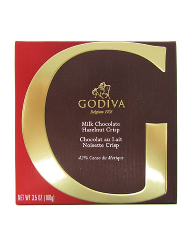 Godiva Milk Chocolate Hazelnut Crisp Bar-NO COLOUR-One Size
