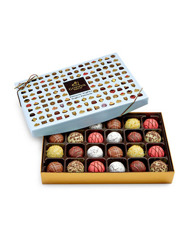 Godiva 24-Piece Patisserie Truffles Box-NO COLOUR-One Size