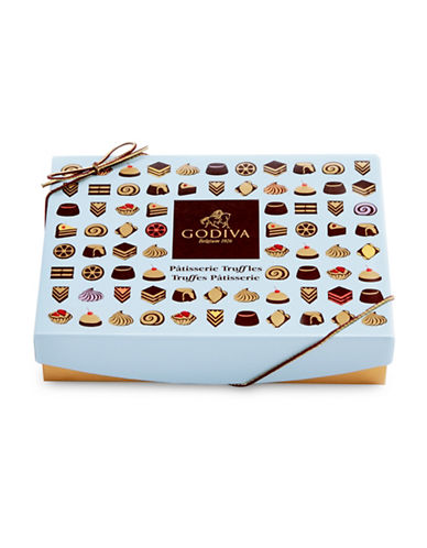 Godiva 12-Piece Patisserie Truffles Box-NO COLOUR-One Size