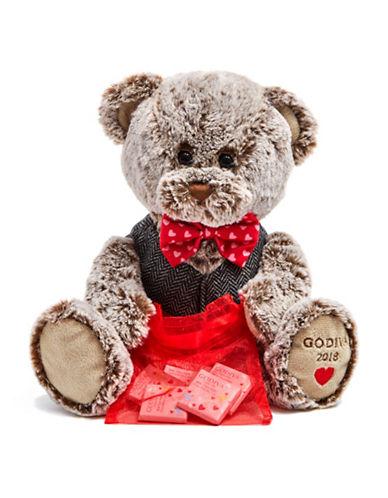 Godiva Valentines Day Plush-BROWN-One Size