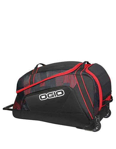 Ogio Big Mouth Wheeled Bag-RED-31