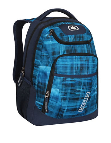 Ogio Impasto Contrast Print Backpack-BLUE-One Size