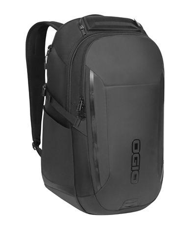 Ogio Summit Laptop Backpack-BLACK-One Size