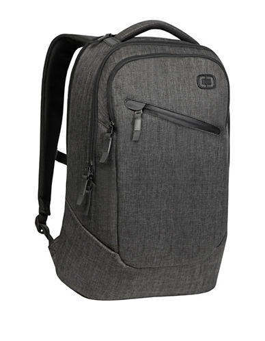 Ogio Textured Backpack-BLACK-One Size