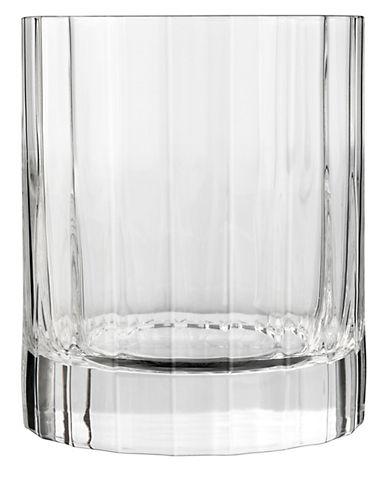Luigi Bormioli Set of 4 Bach Double Old-Fashioned Glasses-CLEAR-One Size