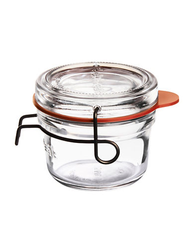 Luigi Bormioli Lock Eat Small Food Jar-CLEAR-One Size