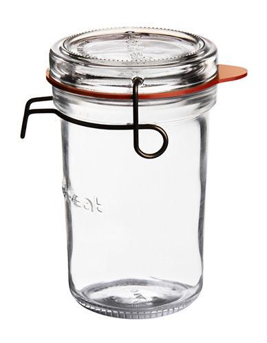 Luigi Bormioli Lock Eat Large Food Jar-CLEAR-One Size