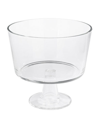 Luigi Bormioli Michelangelo Masterpiece Footed Serving Bowl-CLEAR-One Size