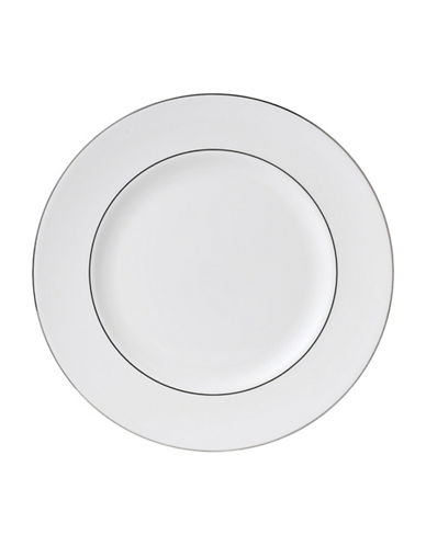 Wedgwood Signet Platinum Dinner Plate-WHITE-One Size 1227826_WHITE_One Size