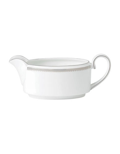 Vera Wang Vera Wang Grosgrain Collection Gravy Boat-WHITE-One Size