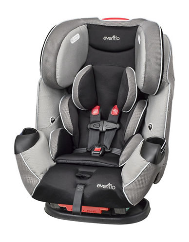 Evenflo Symphony LX All in One Car Seat-GREY-One Size