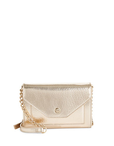 Nine West Table Treasure Crossbody Bag-PLATINO-One Size