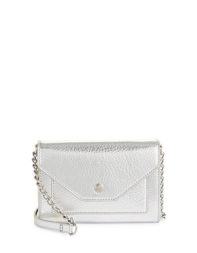 Nine West Table Treasure Crossbody Bag-SILVER-One Size