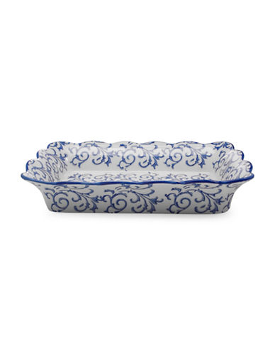 Bia Heritage Rectangular Baker-BLUE-One Size
