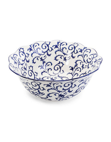 Bia Heritage Serving Bowl-BLUE-One Size