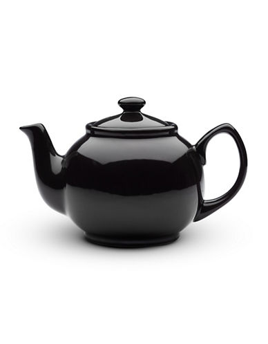 Bia Porcelain Tea Pot-BLACK-One Size