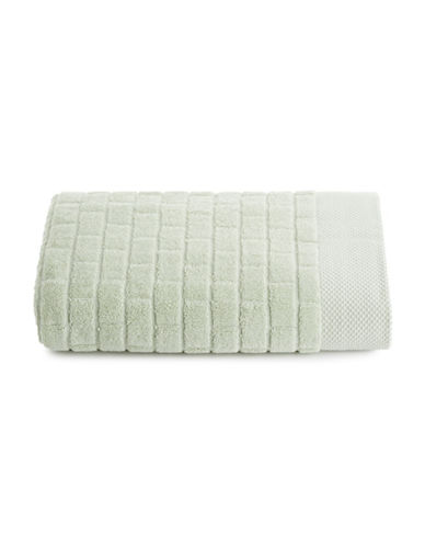 Waterworks Subway Tile Cotton Bath Towel-STONE-Bath Towel
