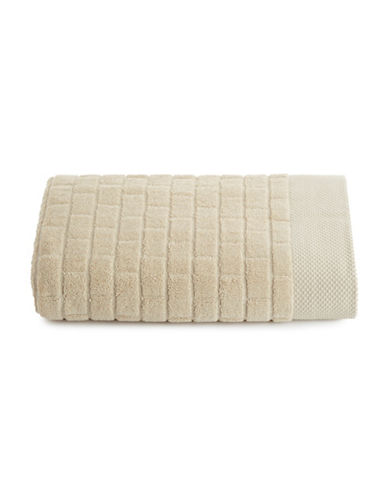 Waterworks Subway Tile Cotton Bath Towel-PRAIRIE-Bath Towel