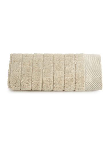 Waterworks Subway Tile Cotton Hand Towel-PRAIRIE-Hand Towel