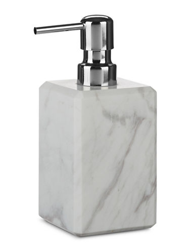 Waterworks White Marble Lotion Pump-WHITE-One Size 87460031_WHITE_One Size