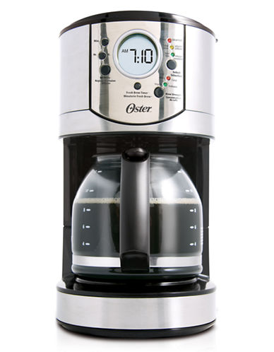 Oster 12 Cup Programmable Stainless Steel Coffee Maker-STAINLESS STEEL-One Size