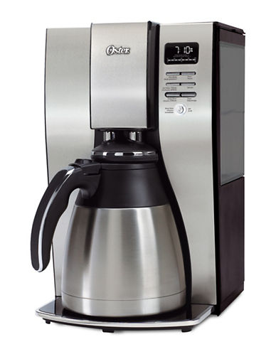 Oster Ten-Cup Optimal Brew Thermal Programmable Coffeemaker-BLACK-One Size