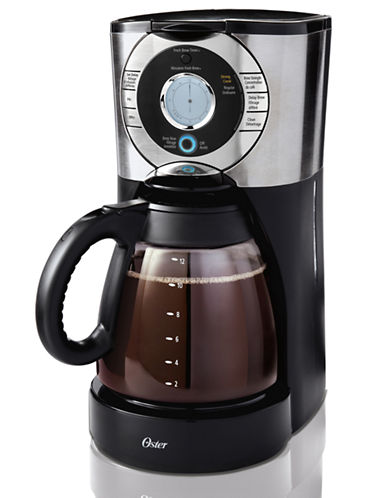 Oster 12-Cup Programmable Coffee Maker-STAINLESS STEEL-One Size 87561230_STAINLESS STEEL_One Size