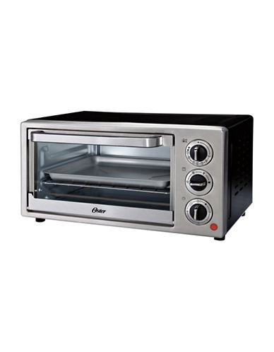 Oster 6-Slice Convection Stainless Steel Countertop Oven-STAINLESS STEEL-One Size