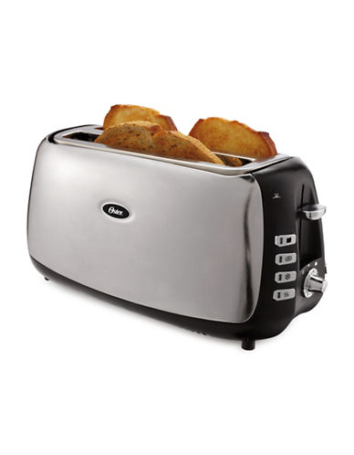 Oster Four-Slice Long-Slot Toaster-STAINLESS STEEL-One Size