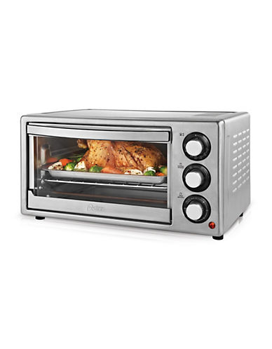 Oster Six-Slice Stainless Steel Toaster Oven photo