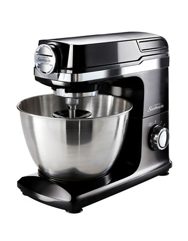 Sunbeam Planetary Stand Mixer with Attachment Capability-BLACK-One Size