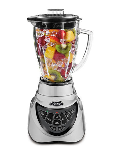 Oster Fresh Versatile Six-Cup Reversible Crush 300 Blender-BRUSHED NICKEL-One Size