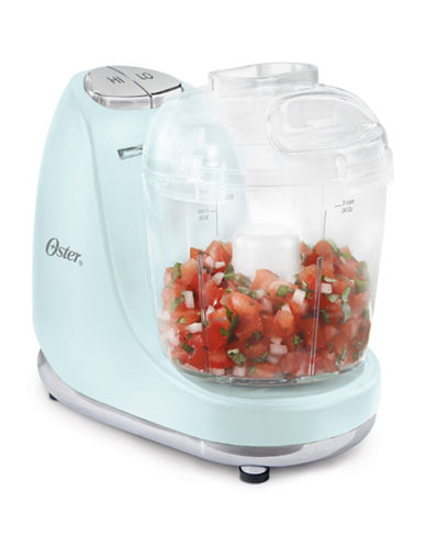 Oster Perfect Pastels Three-Cup Chopper-BLUE-One Size