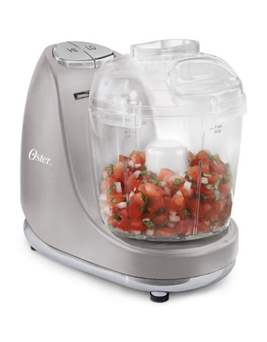Oster Perfect Pastels Three-Cup Chopper-GREY-One Size