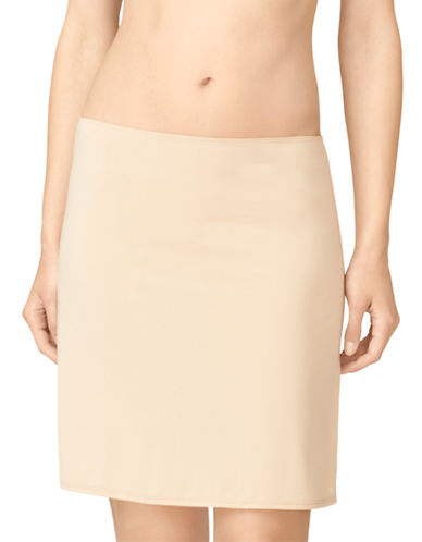 Calvin Klein Half Slip-BARE-Large plus size,  plus size fashion plus size appare