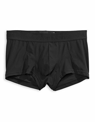e78c19f0127d ... UPC 034497717837 product image for Calvin Klein Micro Low Rise Trunks -  Black - X- ...