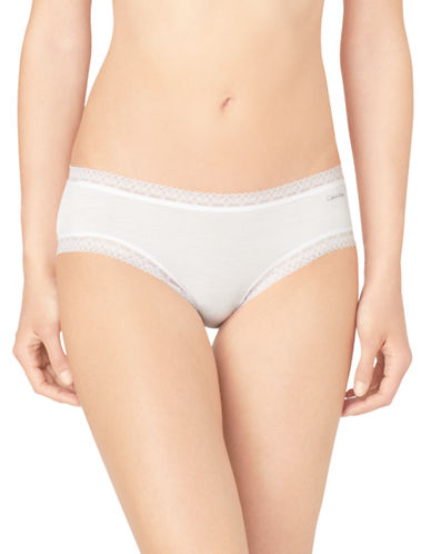 Calvin Klein Flourish Hipster-WHITE-Large