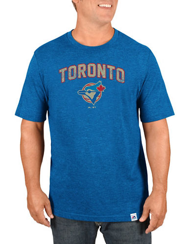 Majestic Toronto Blue Jays Eephus Pitch Tee-BLUE-Medium