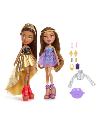 Bratz Metallic Madness Yasmin and Sasha Two-Pack Dolls-NO COLOUR-One Size