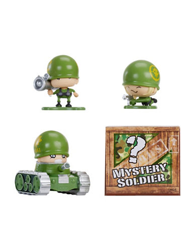 Algm Awesome Little Green Men 4-Piece Starter Pack Series 1- Sharpshooters-MULTI-One Size