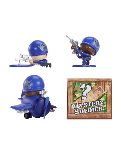 Algm Awesome Little Green Men 4-Piece Starter Pack Series 1- Marksmen Squad-MULTI-COLOURED-One Size