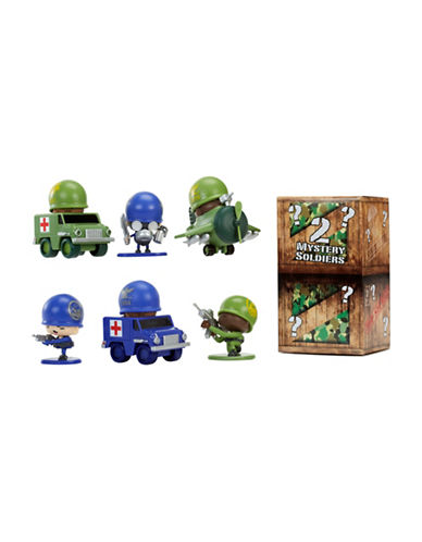 Algm Awesome Little Green Men 8-Piece Battle Pack Series 1- Style 2-MULTI-COLOURED-One Size