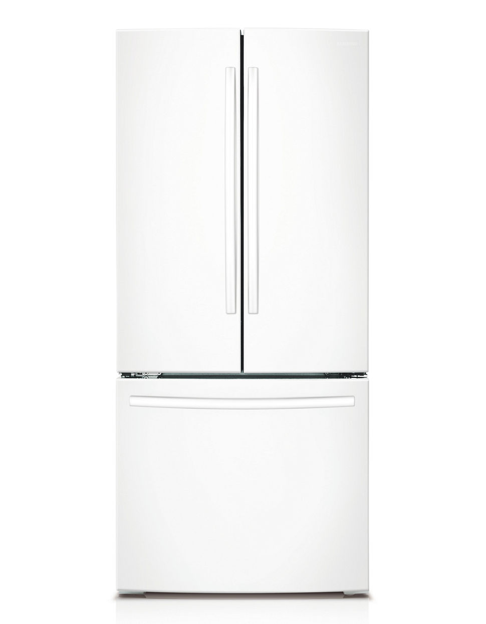 Rf220nctawwaa 216 Cu Ft French Door Refrigerator White