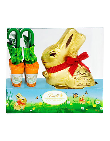 Lindt Gold Bunny and Carrots-NO COLOUR-One Size