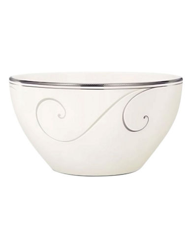 Noritake Platinum Wave Rice Bowl  6In-PLATINUM-One Size
