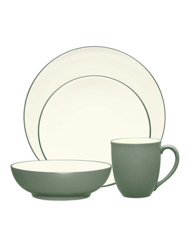 Noritake Colorwave 4 Piece Place Setting-GREEN-One Size