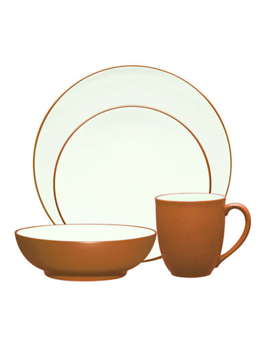 Noritake Colorwave 4 Piece Place Setting-TERRACOTTA-One Size